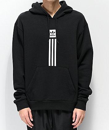 adidas Solid Pillar Black Hoodie