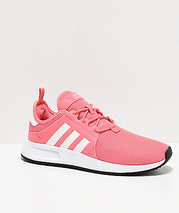 adidas X_PLR J Tactile Rose Shoes