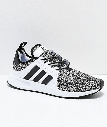adidas Xplorer Grey, Black & White Shoes