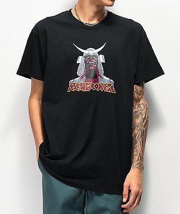 aintnobodycool Samurai camiseta negra