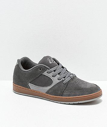 eS Accel Slim Grey & Light Grey Skate Shoes
