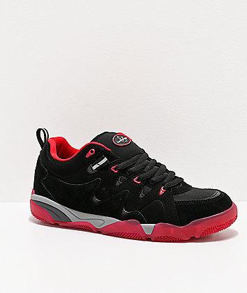 eS Symbol Black & Red Skate Shoes
