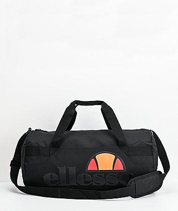 ellesse Barrel Black Duffle Bag