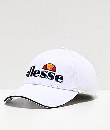 ellesse Ragusa White Strapback Hat