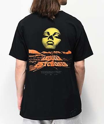 10 Deep American Psychosis Black T-Shirt