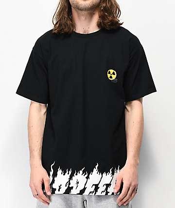 10 Deep Radiated camiseta negra