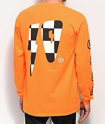10 Deep Strikes Orange Long Sleeve T-Shirt