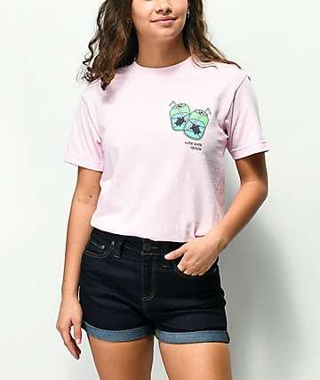 180TIDE Turtle Soda Pink T-Shirt