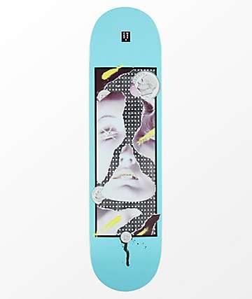 """22 Board Co. Dime 8.0"""" Blue Skateboard Deck"""