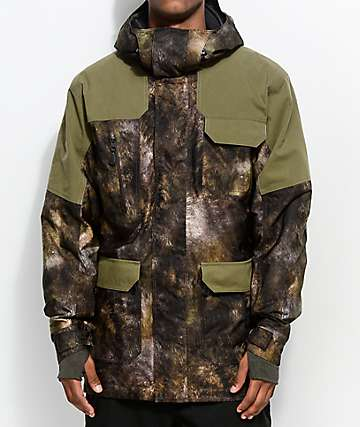 241 Clothing Explorer Dark Olive 10K Snowboard Jacket