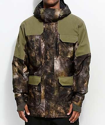 241 Clothing Explorer Dark Olive 10K Snowboard Jacket