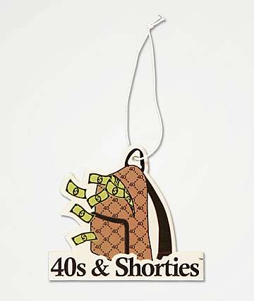 40s & Shorties Money Bag Air Freshener