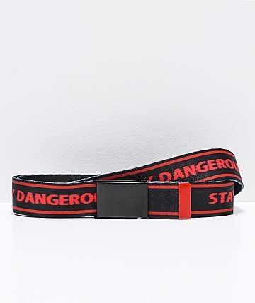 4Hunnid Stay Dangerous Web Belt