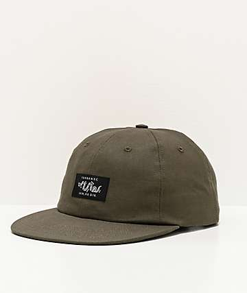 5Boro Join Or Die Olive Strapback Hat