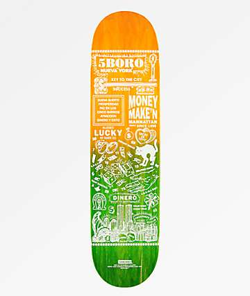 "5Boro Lucky Manhattan 7.75"" Skateboard Deck"