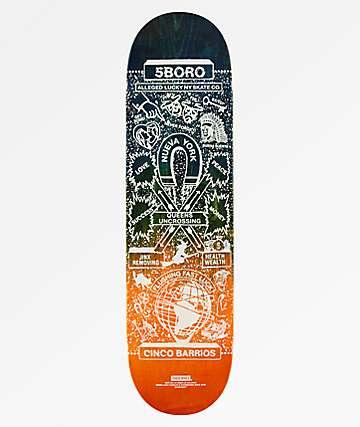 """5Boro Lucky Queens 8.25"""" Skateboard Deck"""