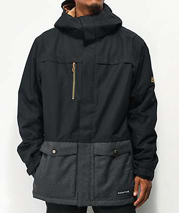 686 Anthem Black 10K Snowboard Jacket