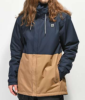686 Foundation Navy 5K Snowboard Jacket