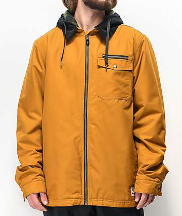 686 Garage Golden Brown 10k Snowboard Jacket