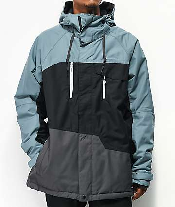 686 Geo Insulated Goblin Blue 10K Snowboard Jacket