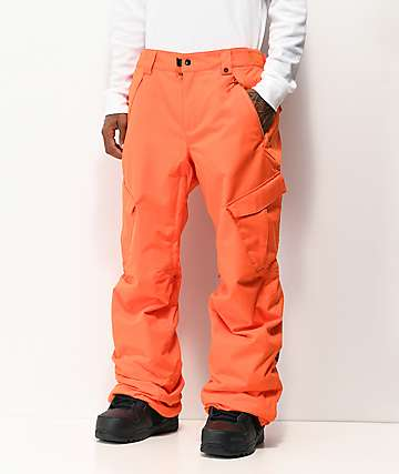686 Infinity Cargo Orange 10K Snowboard Pants
