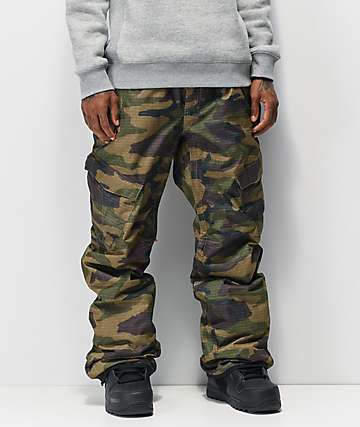 686 Infinity Insulated Cargo Camo 10K Snowboard Pants