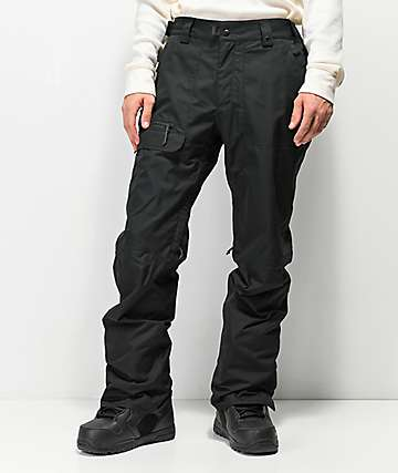 686 Vice Black 10K Snowboard Pants
