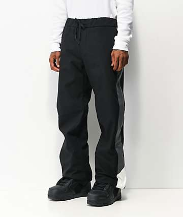 686 Waterproof Track Pant Black 10K Snowboard Pants