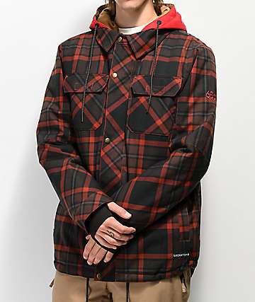 686 Woodland Rusty Red 10K Snowboard Jacket