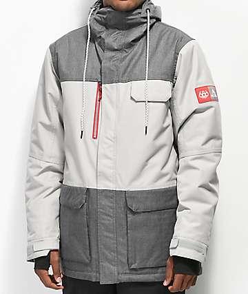 686 x Coors Light Sixer Grey 10K Snowboard Jacket