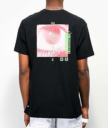 686 x Primitive Sight Black T-Shirt