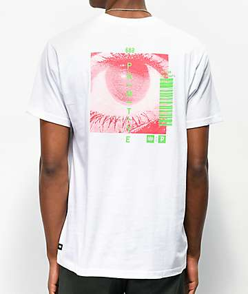686 x Primitive Sight White T-Shirt