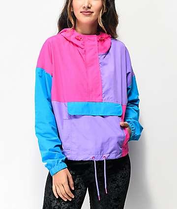 A-Lab Della Colorblock chaqueta anorak