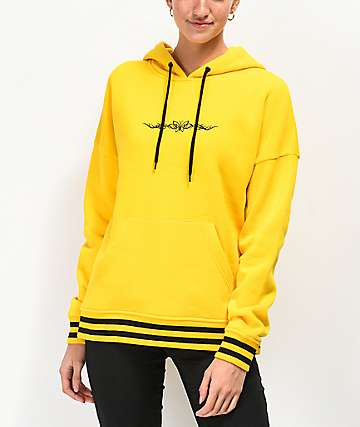 A-Lab Freela Butterfly Yellow Hoodie