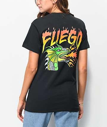 A-Lab Fuego Dragon Black T-Shirt