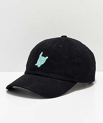 A-Lab Loosies Black Strapback Hat