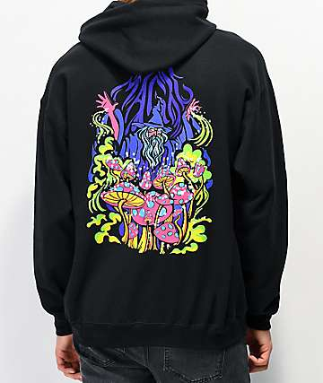 A-Lab Magic Fungi Black Hoodie