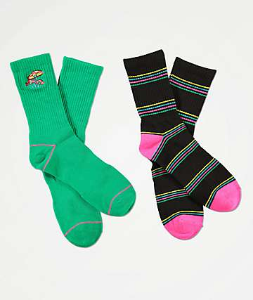 A-Lab Shrooms 2 Pack Crew Socks