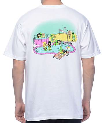 A-Lab Summer of 2069 camiseta blanca