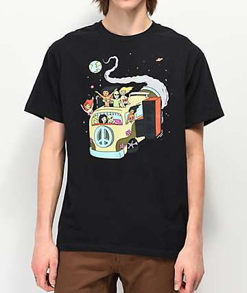 A-Lab Take A Ride Black T-Shirt