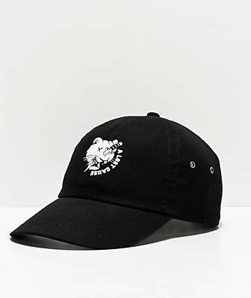 A Lost Cause Bad Luck Black Strapback Hat