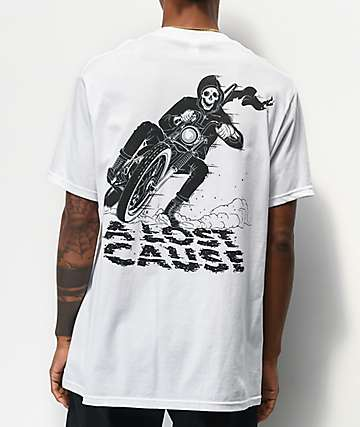 A Lost Cause Corner Reaper White T-Shirt