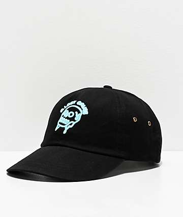 A Lost Cause Glow Black Strapback Hat