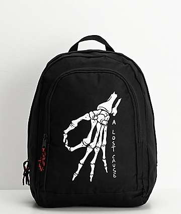 A Lost Cause Gotcha Black Backpack