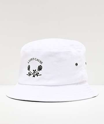 A Lost Cause Pay Later White Bucket Hat