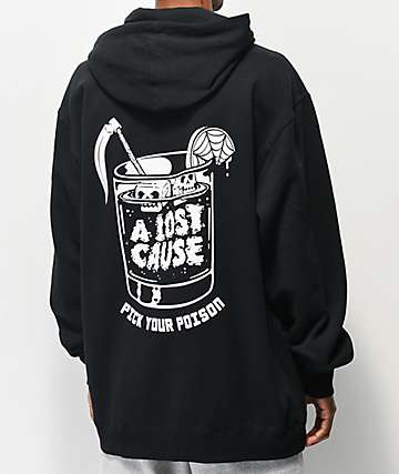 A Lost Cause Poison Black Hoodie