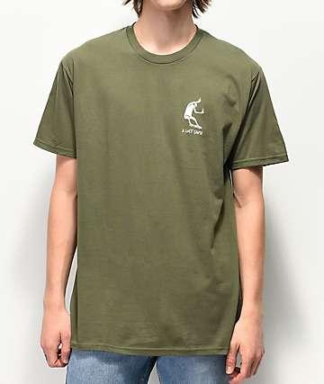 A Lost Cause Traveler camiseta verde