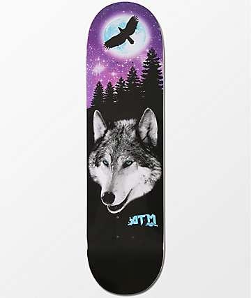"ATM Lone Spirit 8.25""  Skateboard Deck"