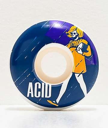 Acid Salt White 53mm Skateboard Wheels