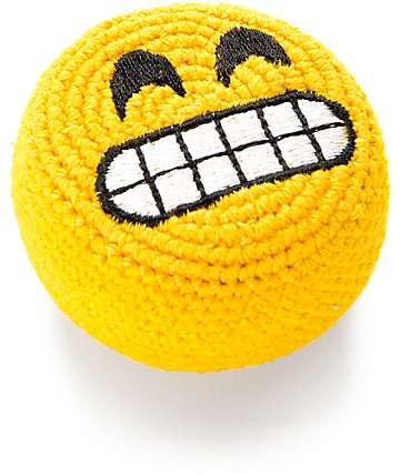 Adventure Imports Emoji Grin Footbag